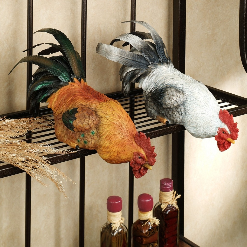 Rooster Decoration For The Kitchen