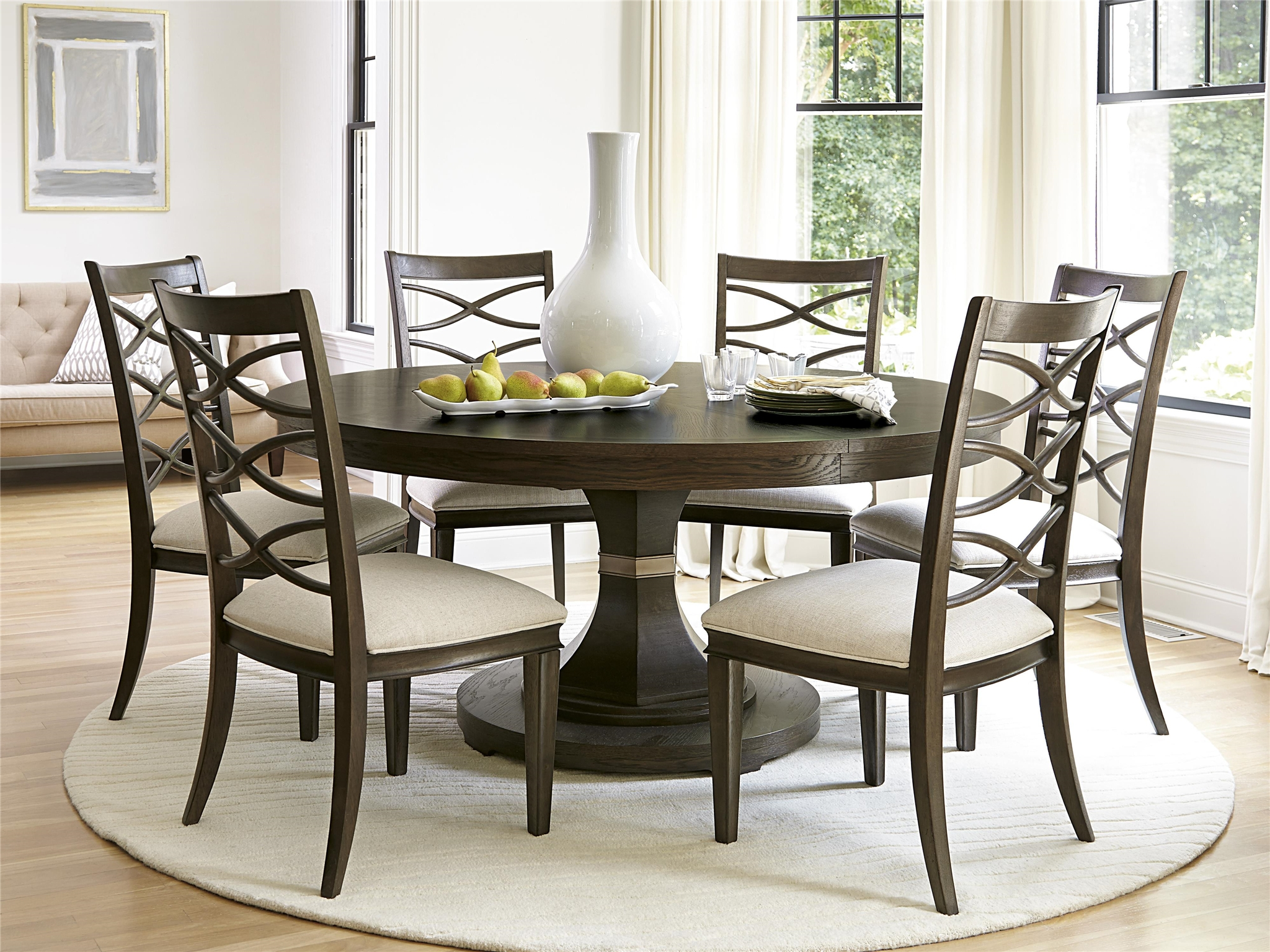 Round Country Kitchen Table Sets