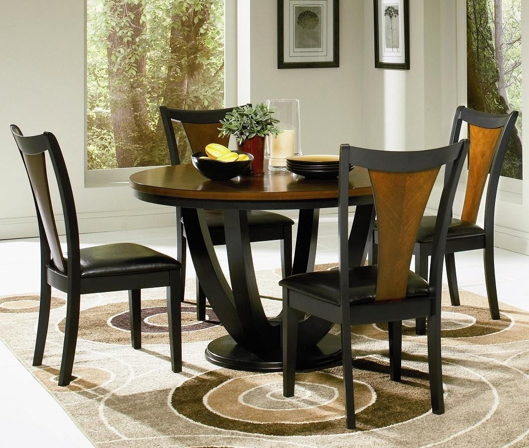 Round Kitchen Table Chair Sets