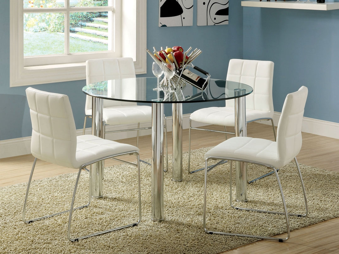 Permalink to Round Kitchen Table Sets Glass