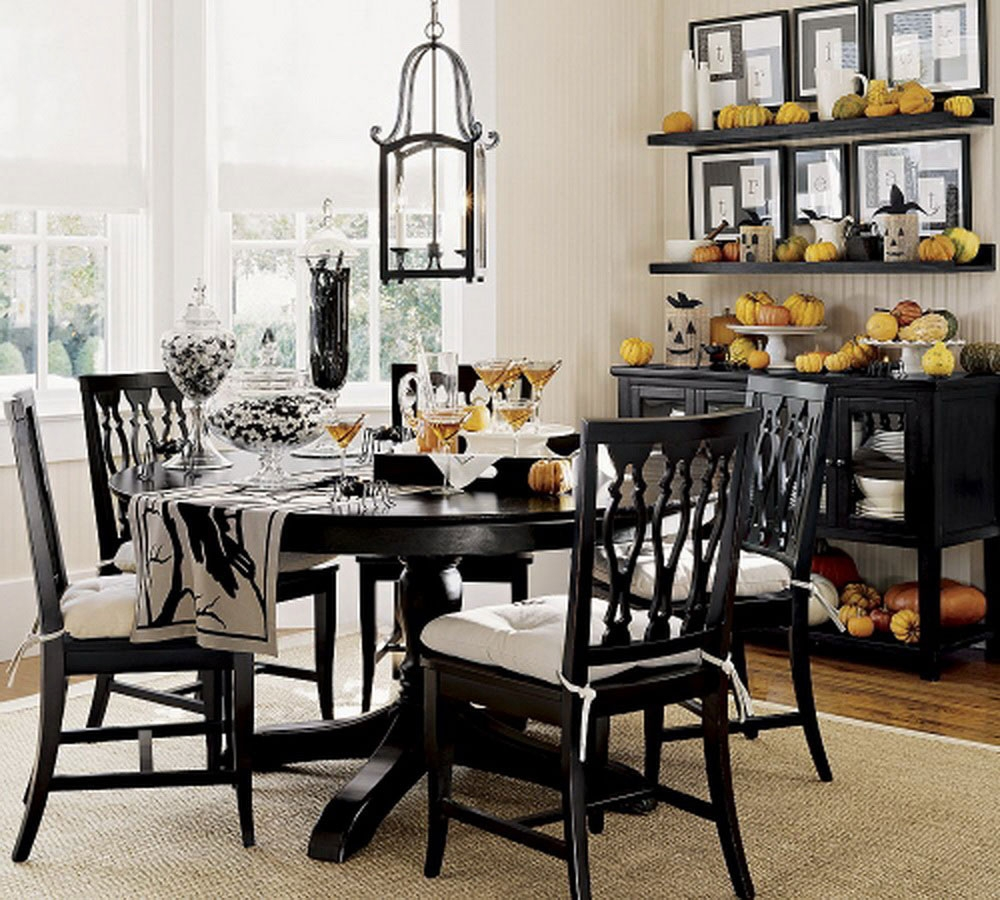Round Kitchen Table Setting Ideas