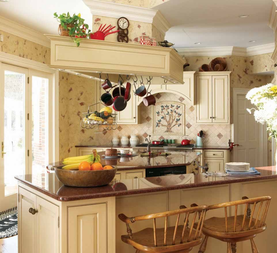 Small Kitchen Decorating Ideas Themes  Kitchen Decor Sets