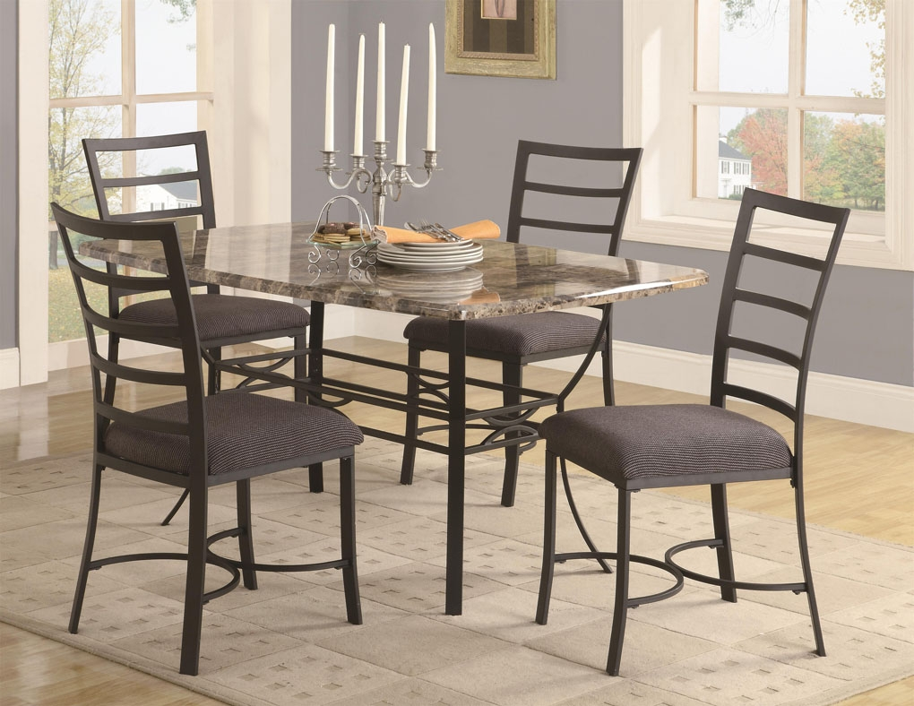 Small Metal Kitchen Table Sets