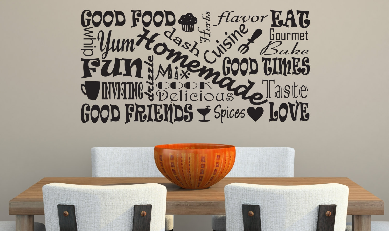 Spice Can Decorative Kitchen Wall Art