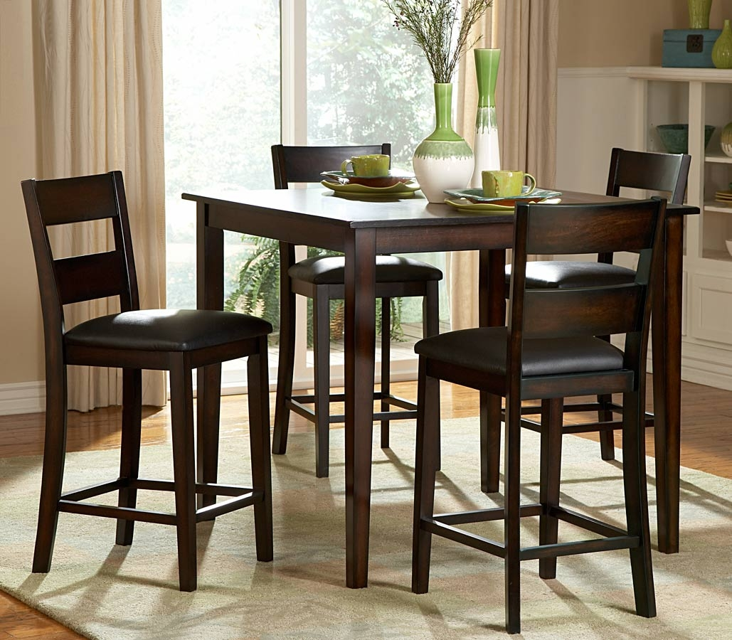 Square High Top Kitchen Table Sets