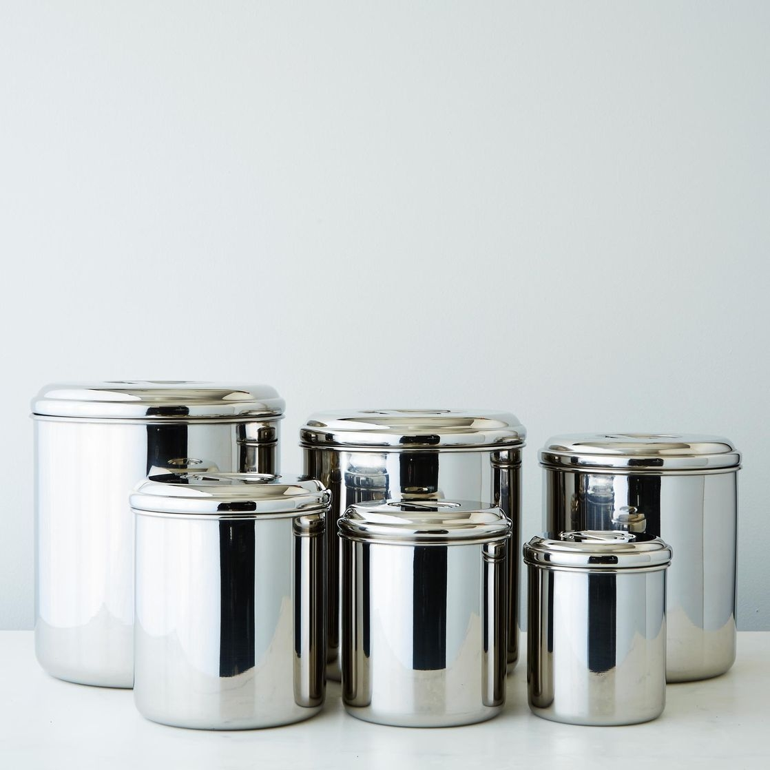 Permalink to Stainless Steel Kitchen Canisters Sets