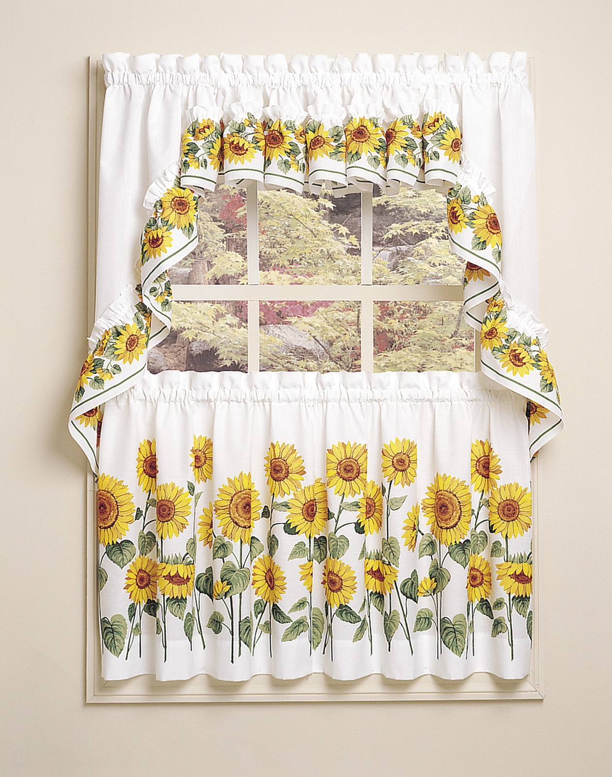 Sunflower Kitchen Curtain Sets