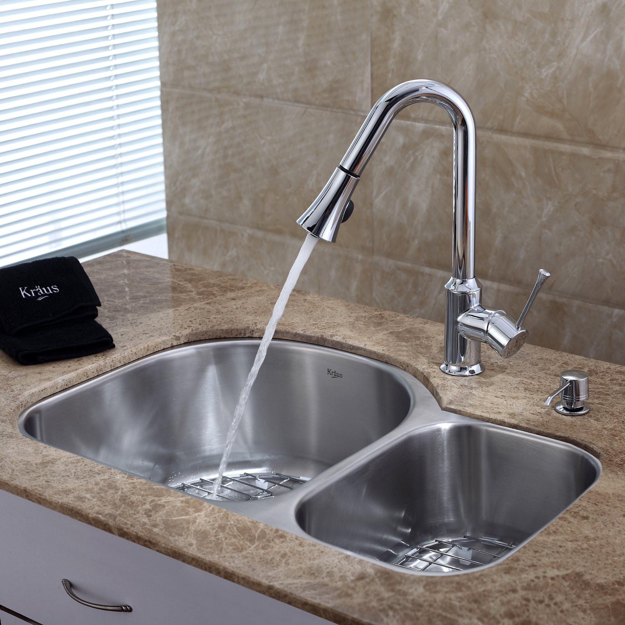 Permalink to Undermount Kitchen Sink And Faucet Set