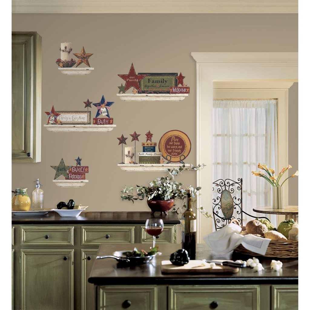 Wall Decorations For Country Kitchen