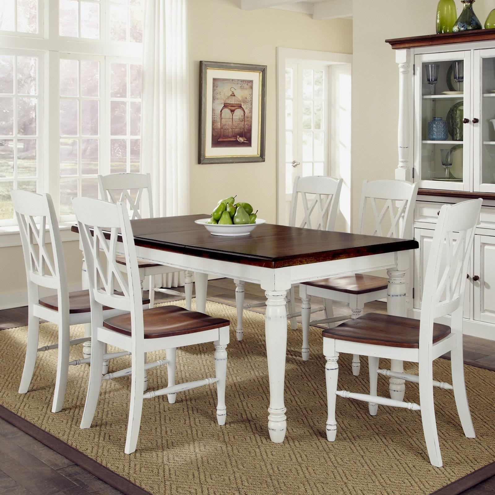 White Kitchen Furniture Sets