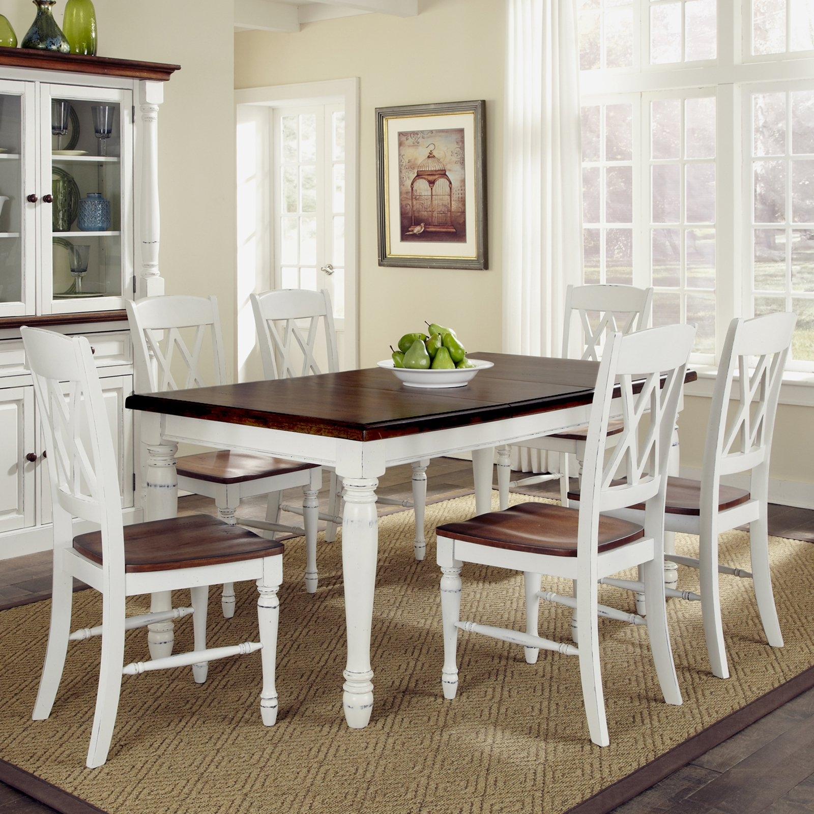 White Kitchen Table Sets With Bench