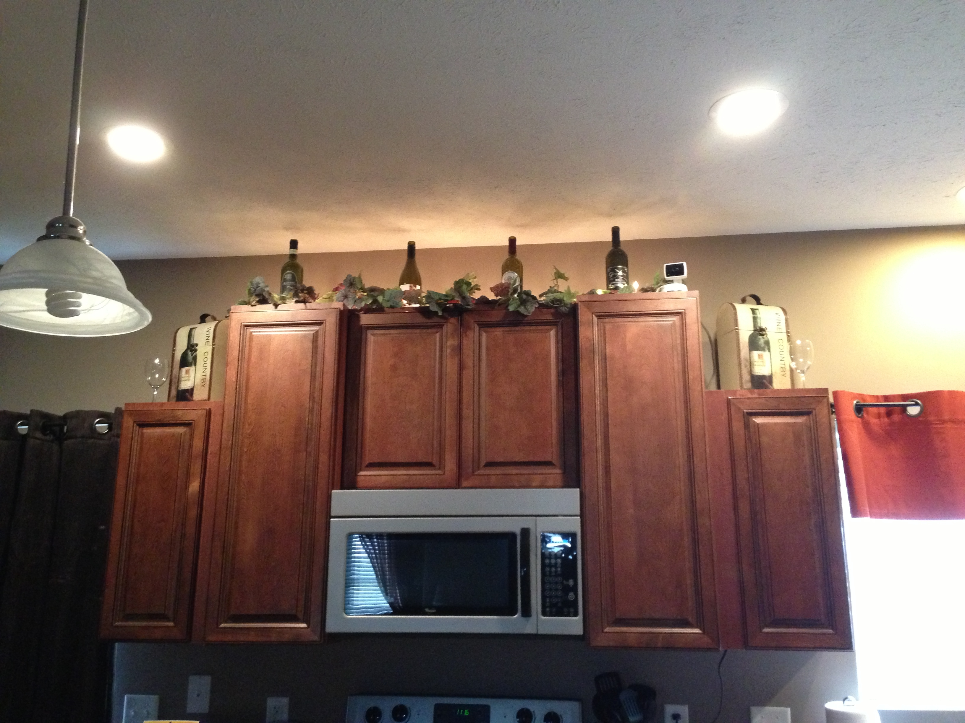 Wine Bottle Decorations For Kitchen