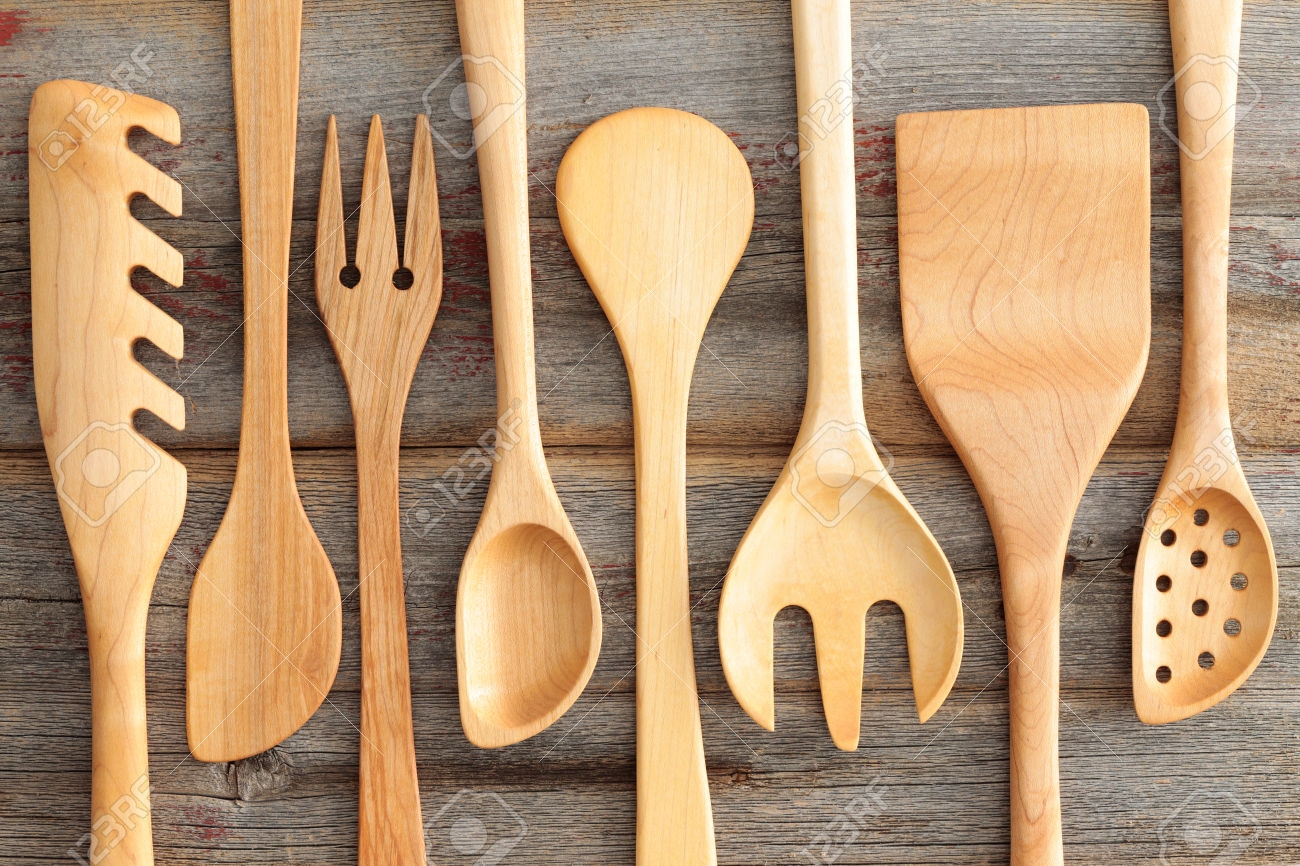 Wood Kitchen Utensils Sets Wood Kitchen Utensils Sets set of rustic wooden handcrafted kitchen utensils with a spaghetti 1300 X 866