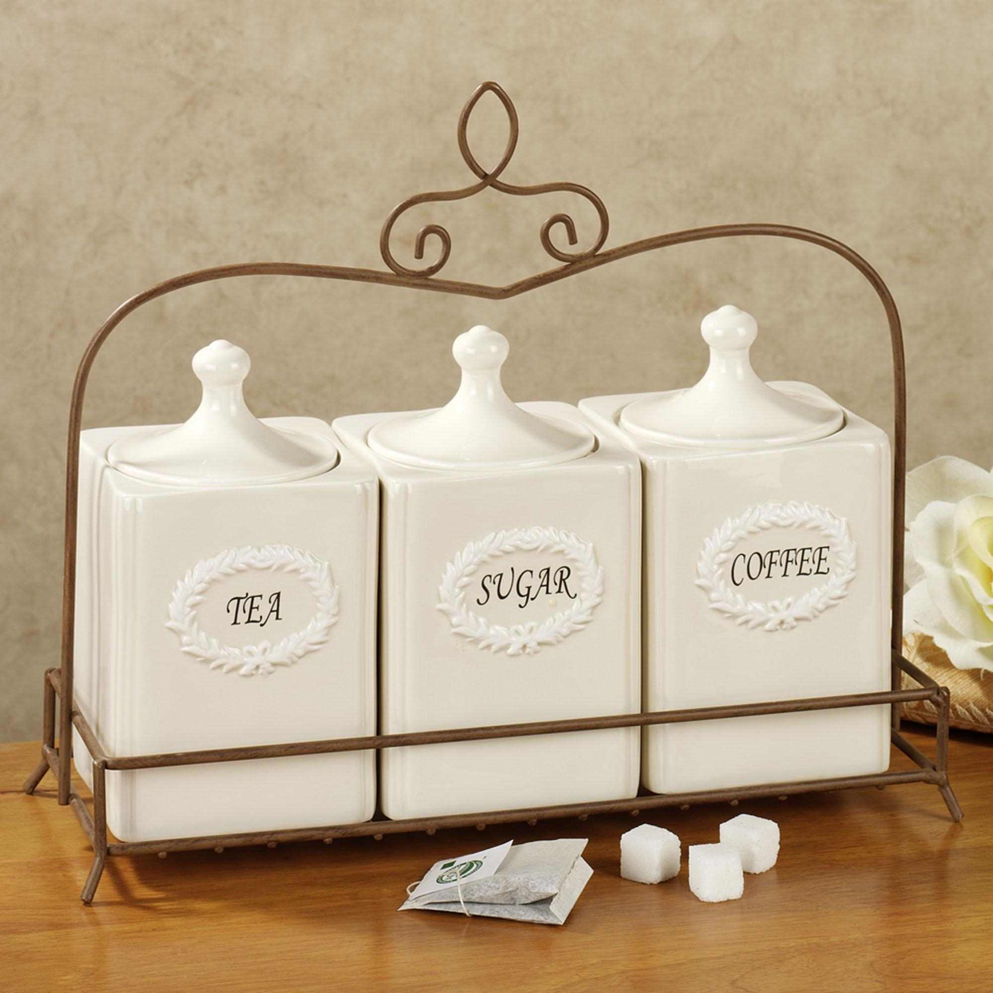 Wrought Iron Kitchen Canister Sets