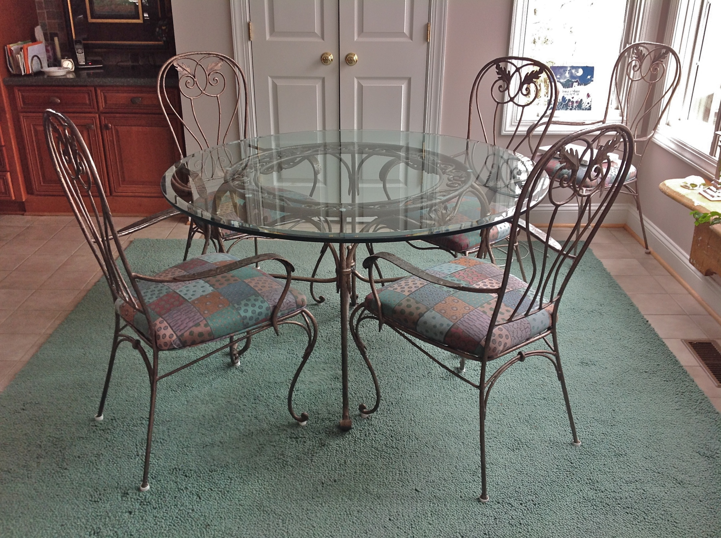 Wrought Iron Kitchen Dining Sets