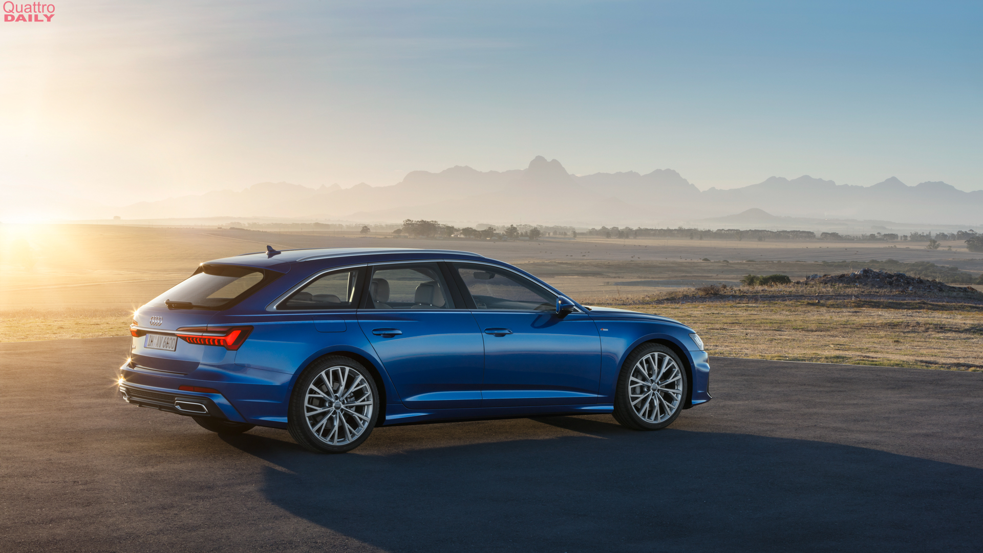 12 A 2020 The Audi A6 Spy Shoot