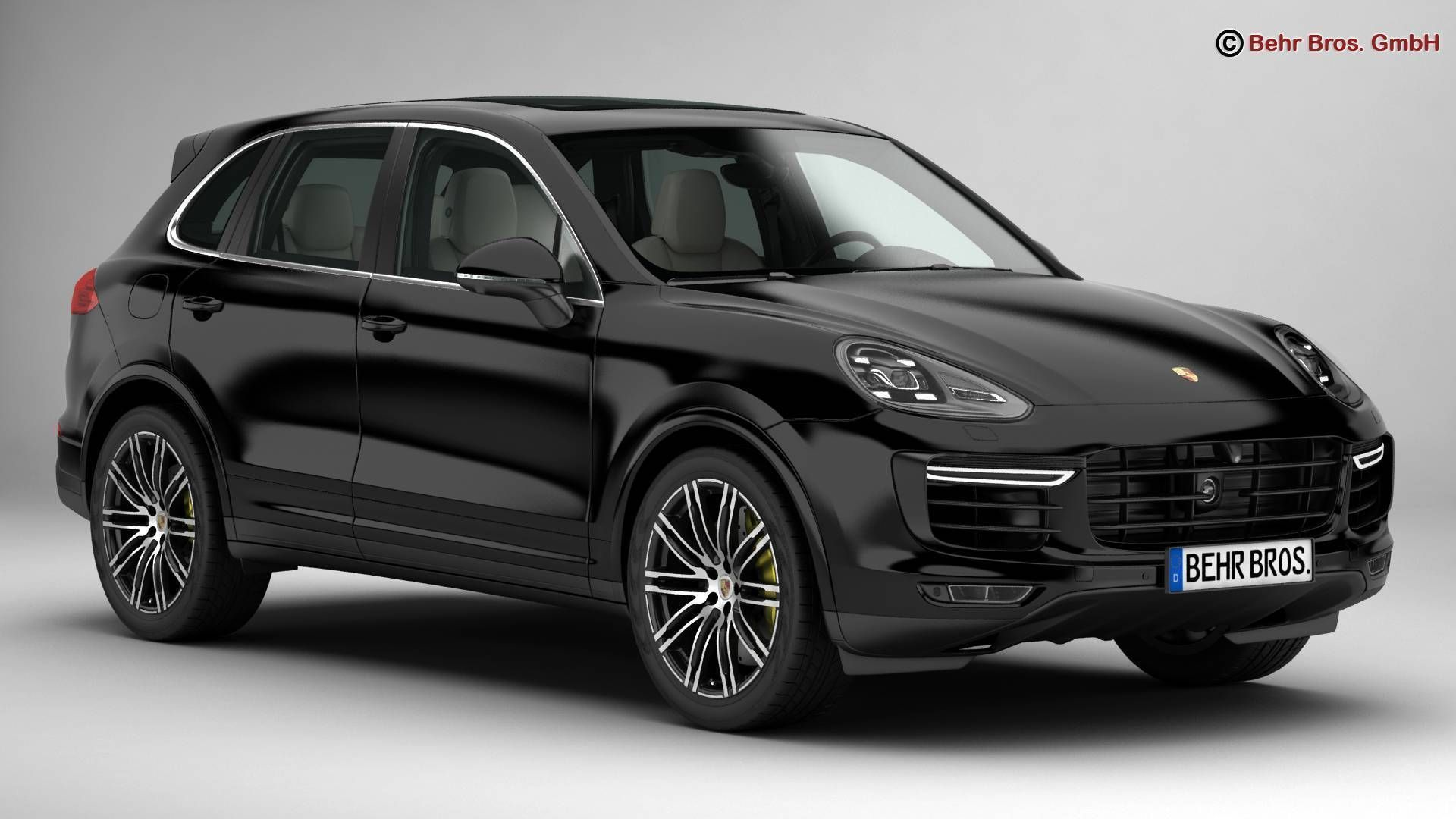 12 A Porsche Cayenne Model Spy Shoot
