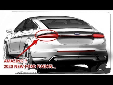 12 All New 2020 Ford Fusion Energi Redesign