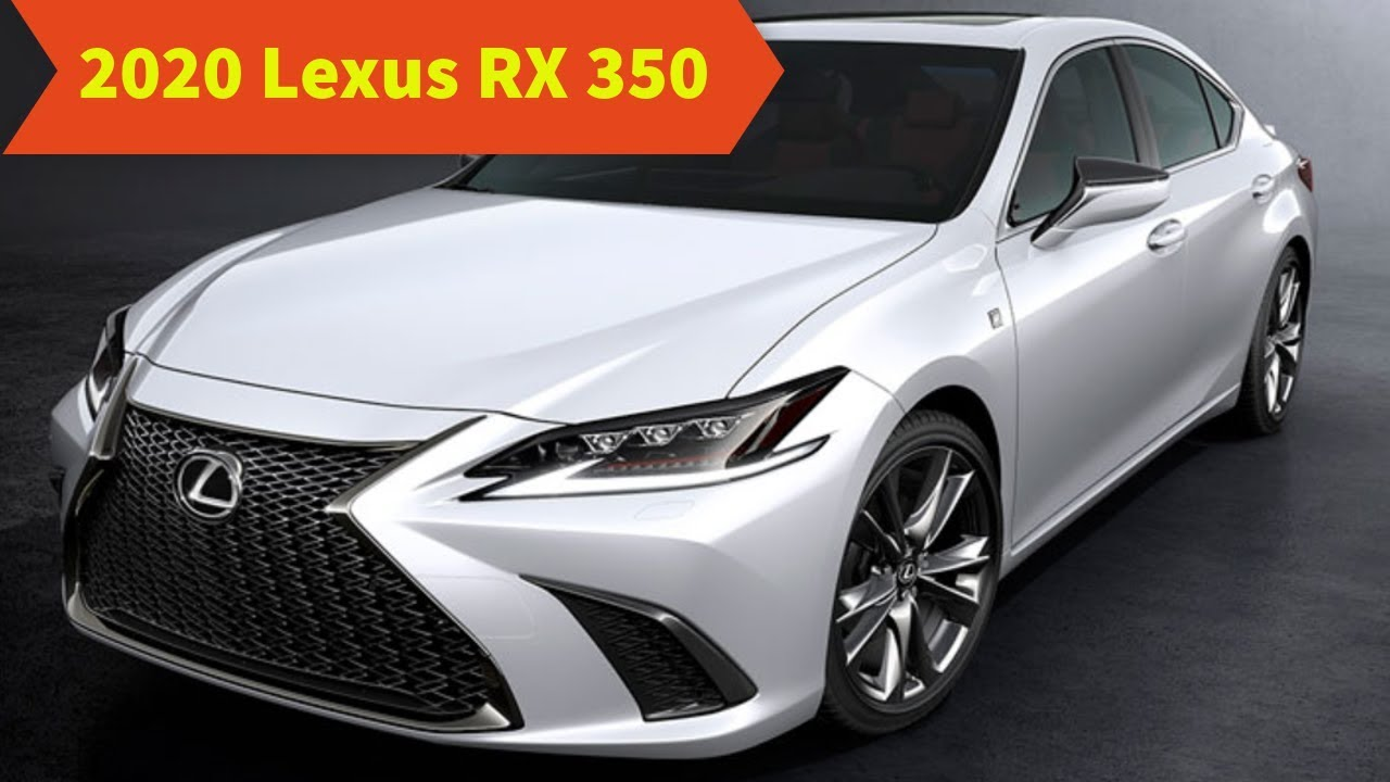 12 New 2020 Lexus RX 350 Performance