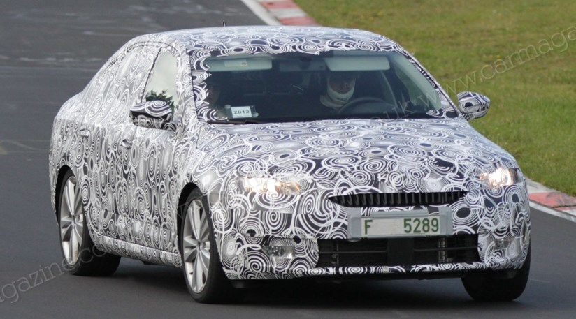 13 A Spy Shots Skoda Superb Concept and Review