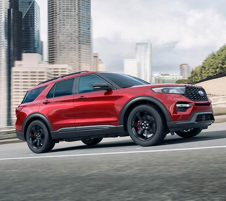14 A 2020 Ford Explorer Sports Overview
