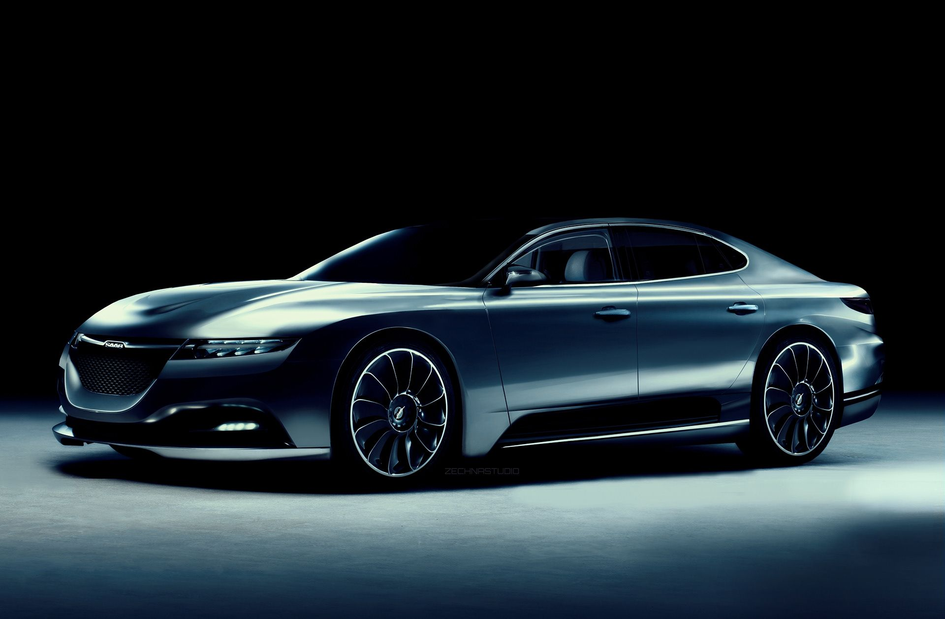 14 A 2020 Saab 9 5 Concept and Review