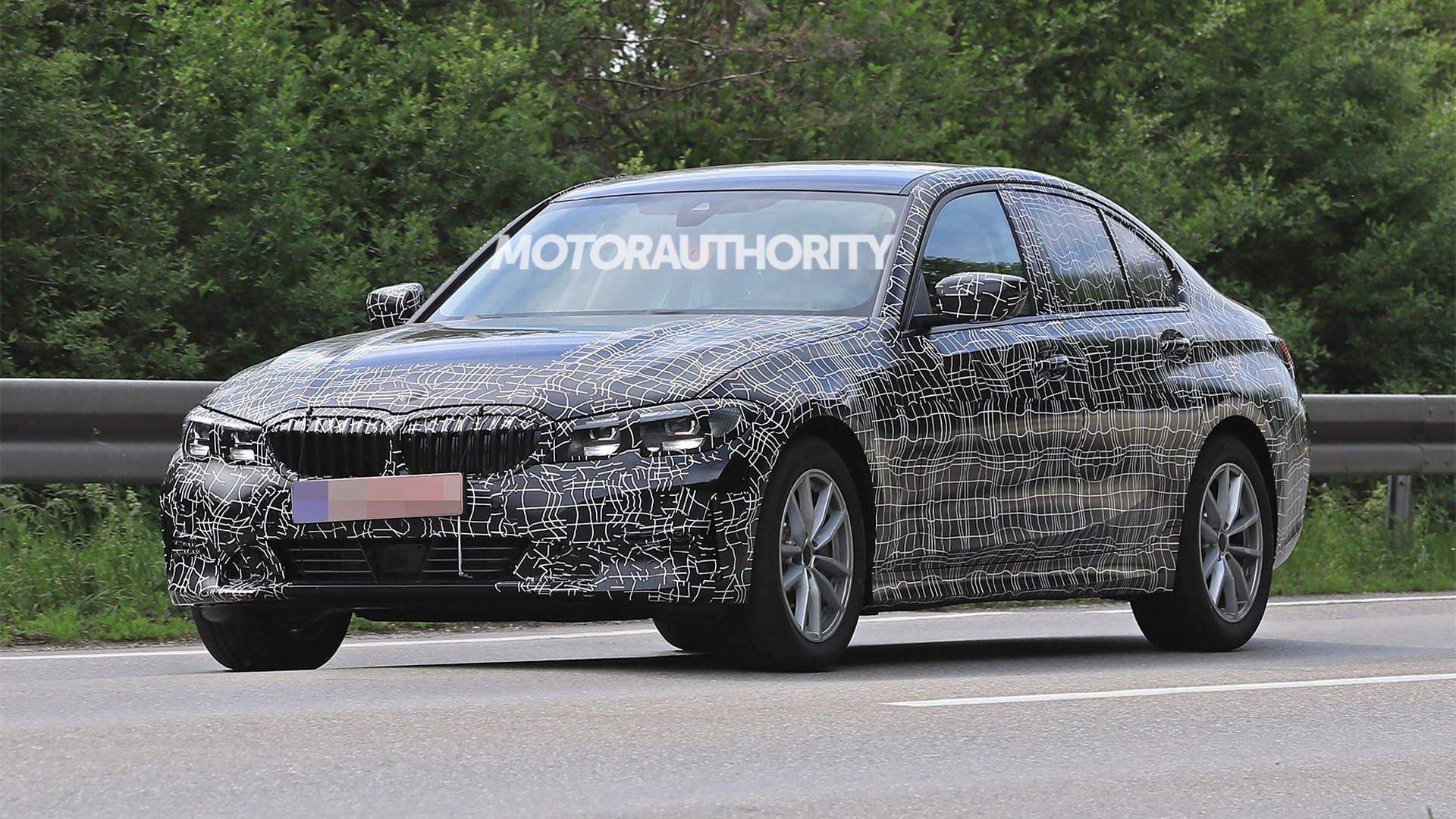 14 A 2020 Spy Shots BMW 3 Series Spy Shoot