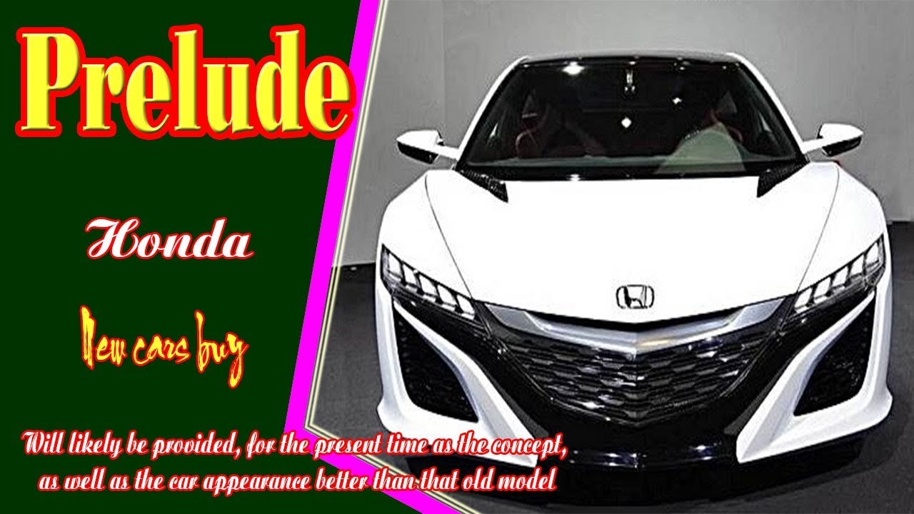 14 All New 2020 Honda Prelude Type R New Model and Performance