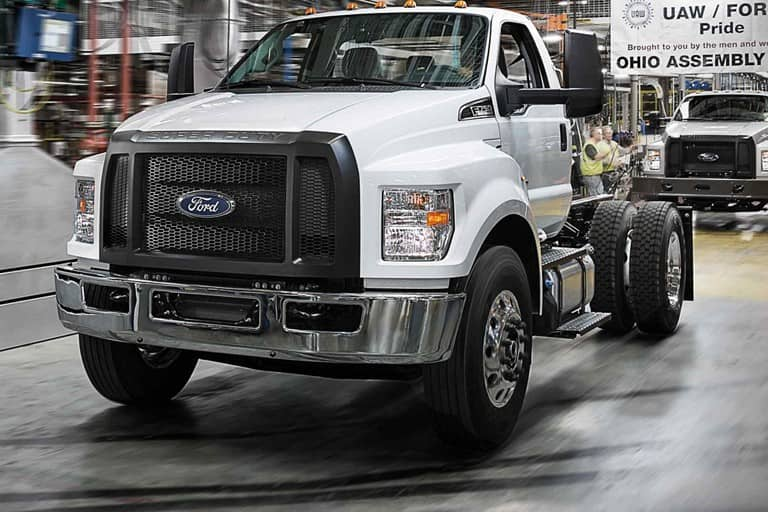14 The 2020 Ford F650 Performance and New Engine