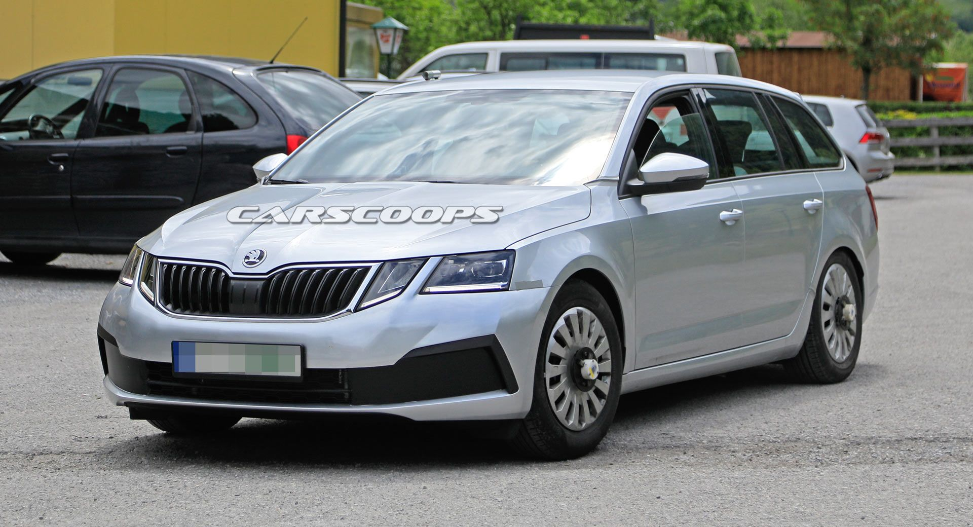 14 The Spy Shots Skoda Superb Engine