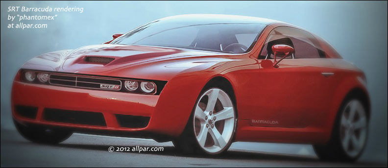15 A 2020 Plymouth Barracuda Concept