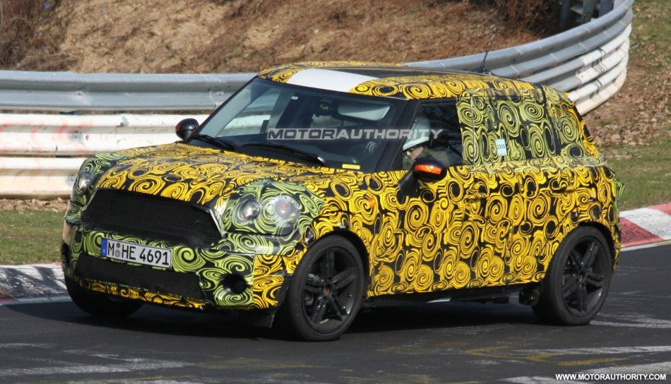 15 New Spy Shots Mini Countryman Concept