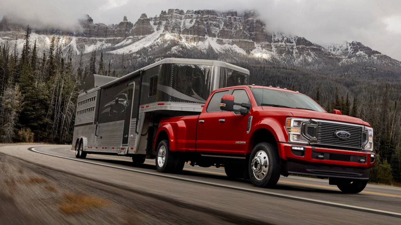 16 A 2020 Ford F350 Super Duty Wallpaper