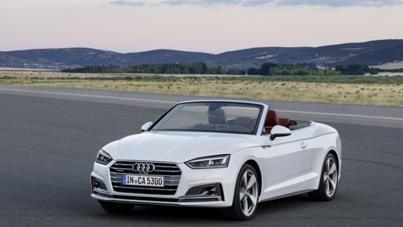 17 A 2020 Audi Rs5 Cabriolet Spy Shoot