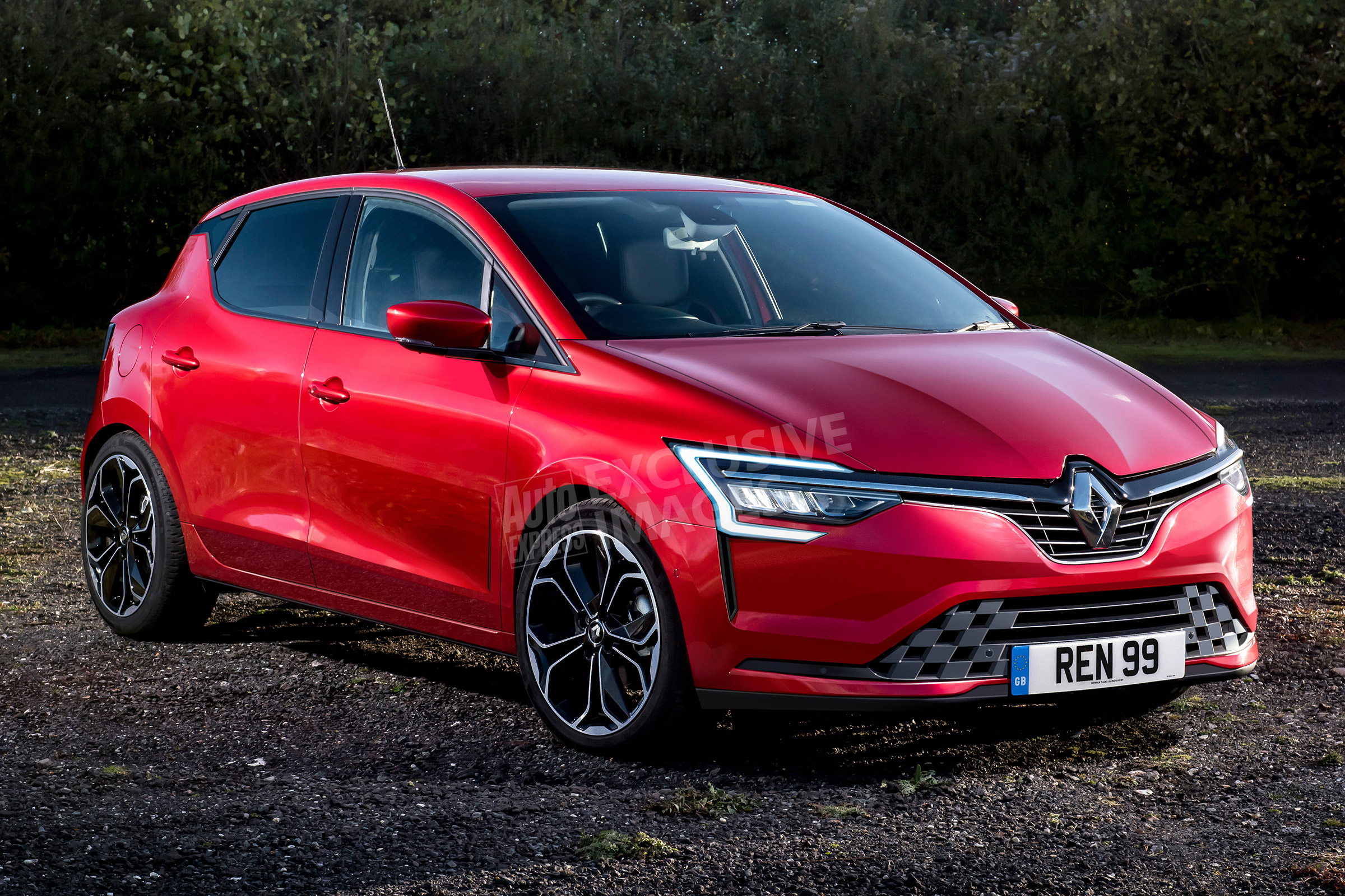 17 All New 2020 Renault Megane SUV Spy Shoot