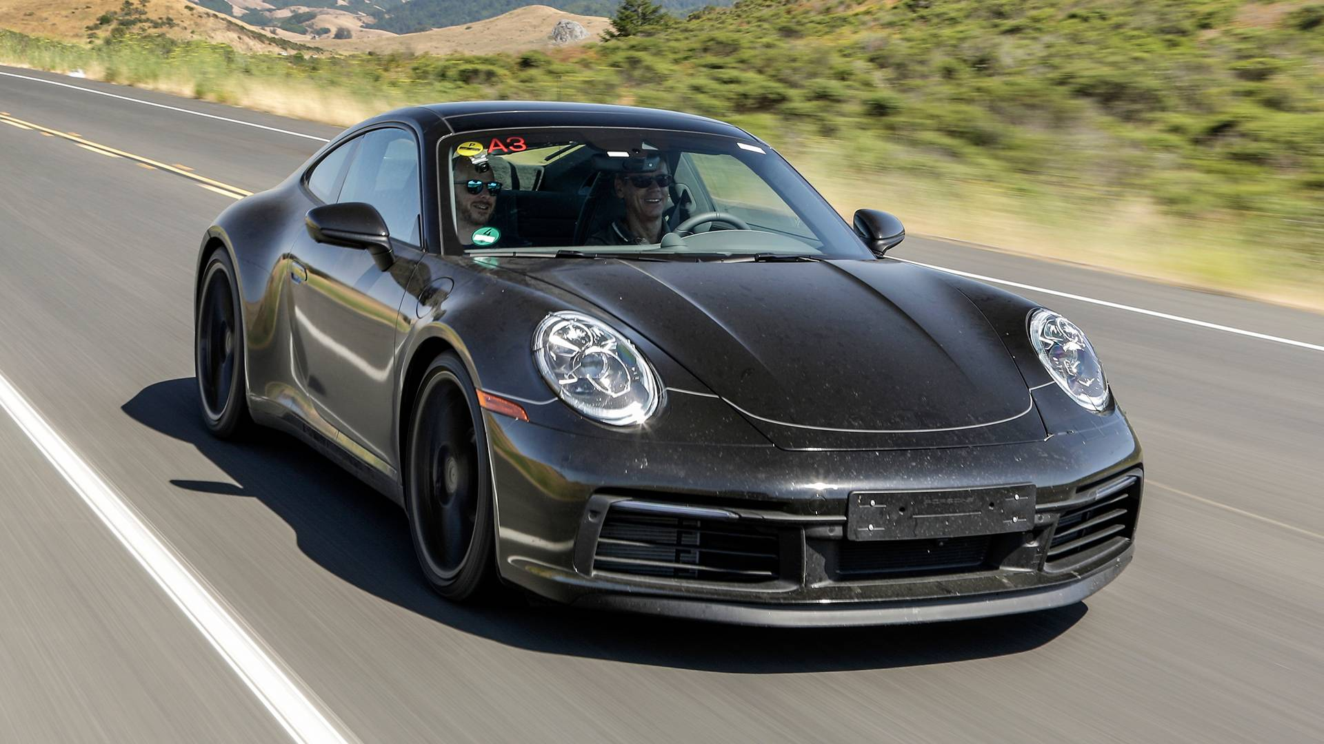 17 New 2020 Porsche 911 Carrera Spy Shoot