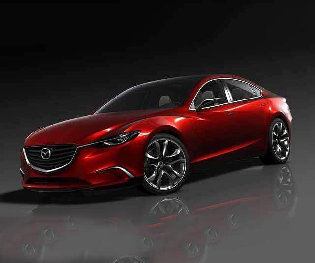 17 The 2019 Mazda 6 Coupe Spy Shoot