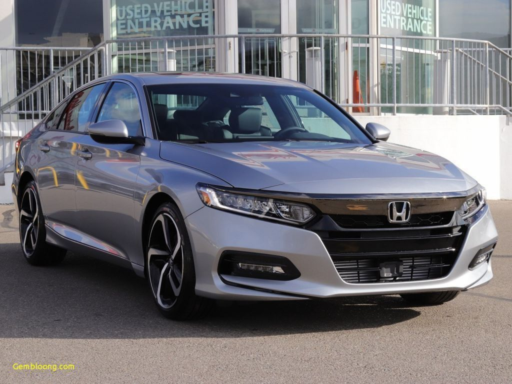 18 All New 2020 Honda Accord Coupe Spirior Model