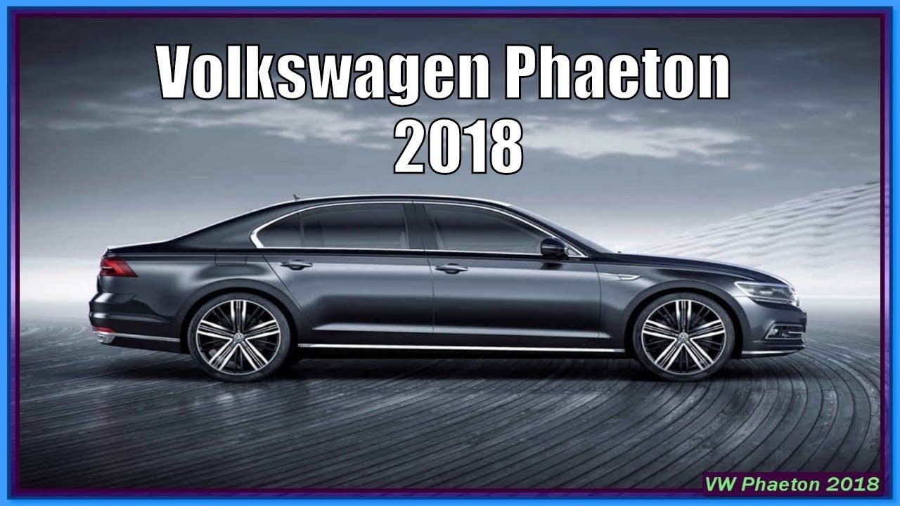 18 The 2020 VW Phaeton Concept