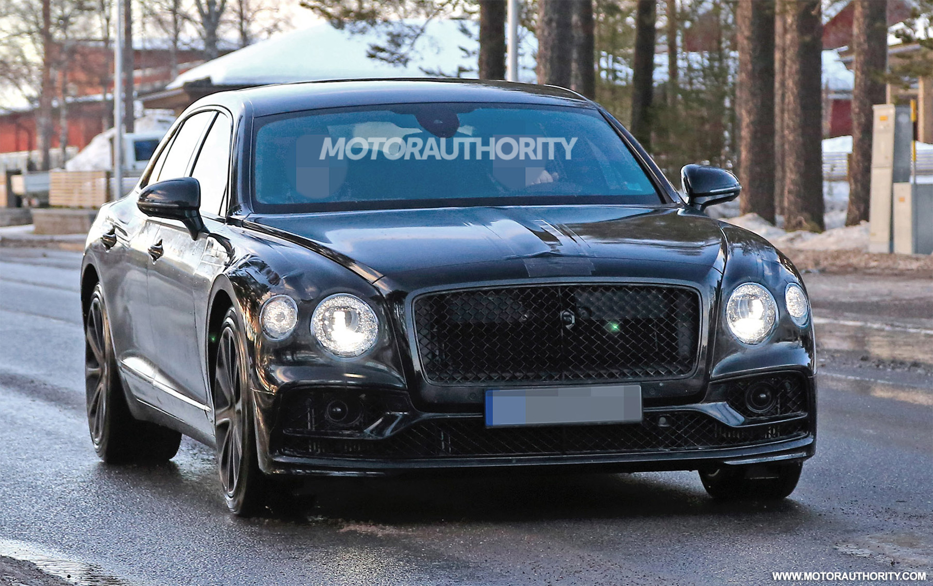 19 A 2020 Bentley Flying Spur Model