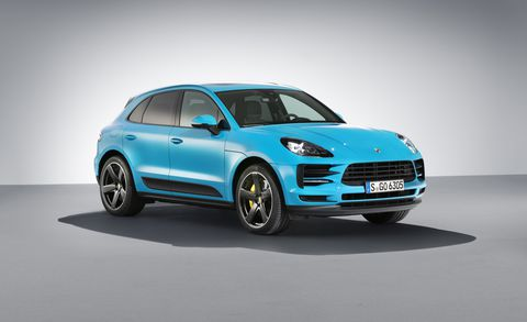 19 All New 2019 Porsche Macan Turbo Photos
