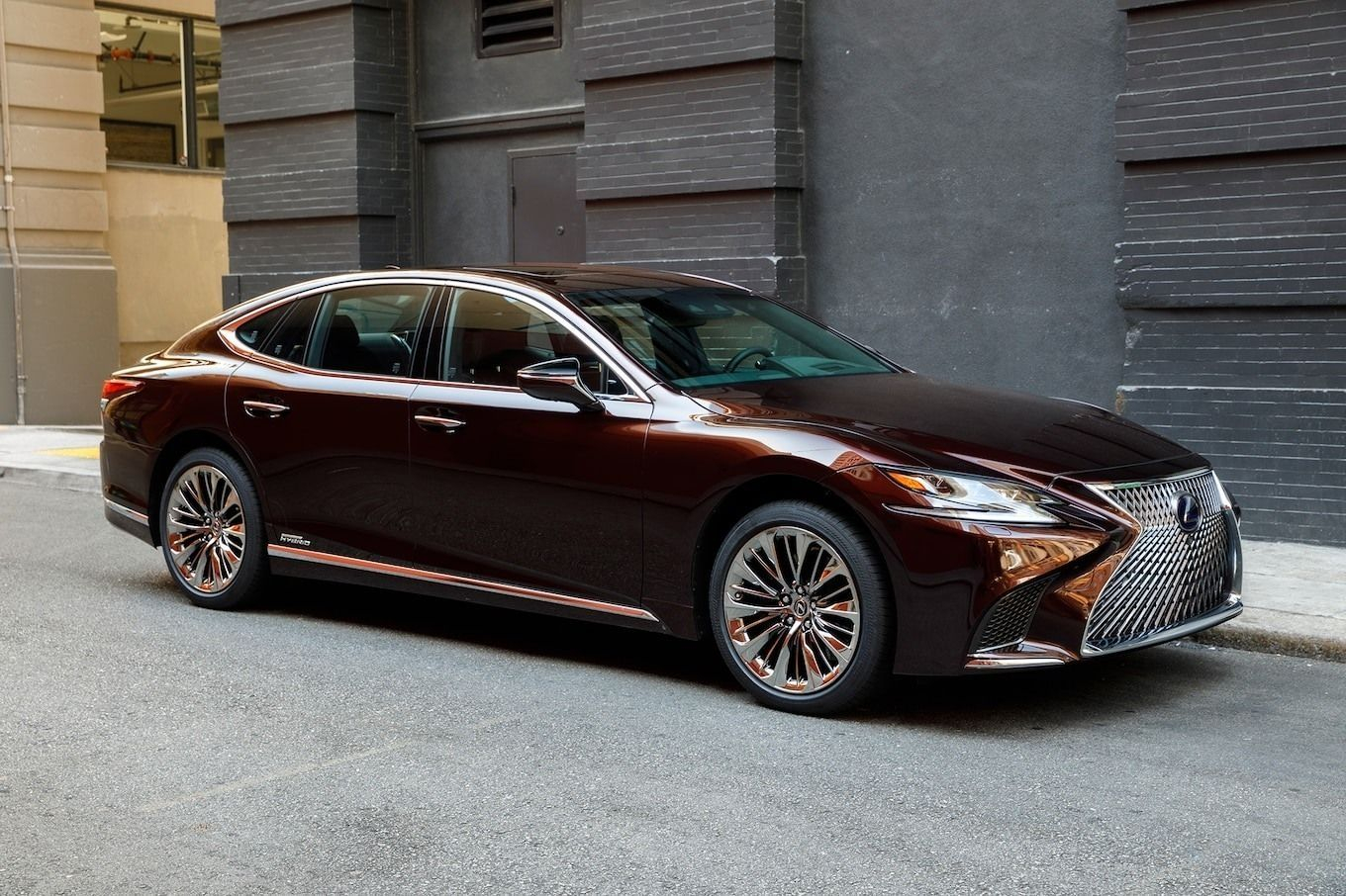 19 All New 2020 Lexus LSs Configurations