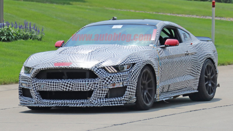 19 All New 2020 The Spy Shots Ford Mustang Svt Gt 500 Concept and Review