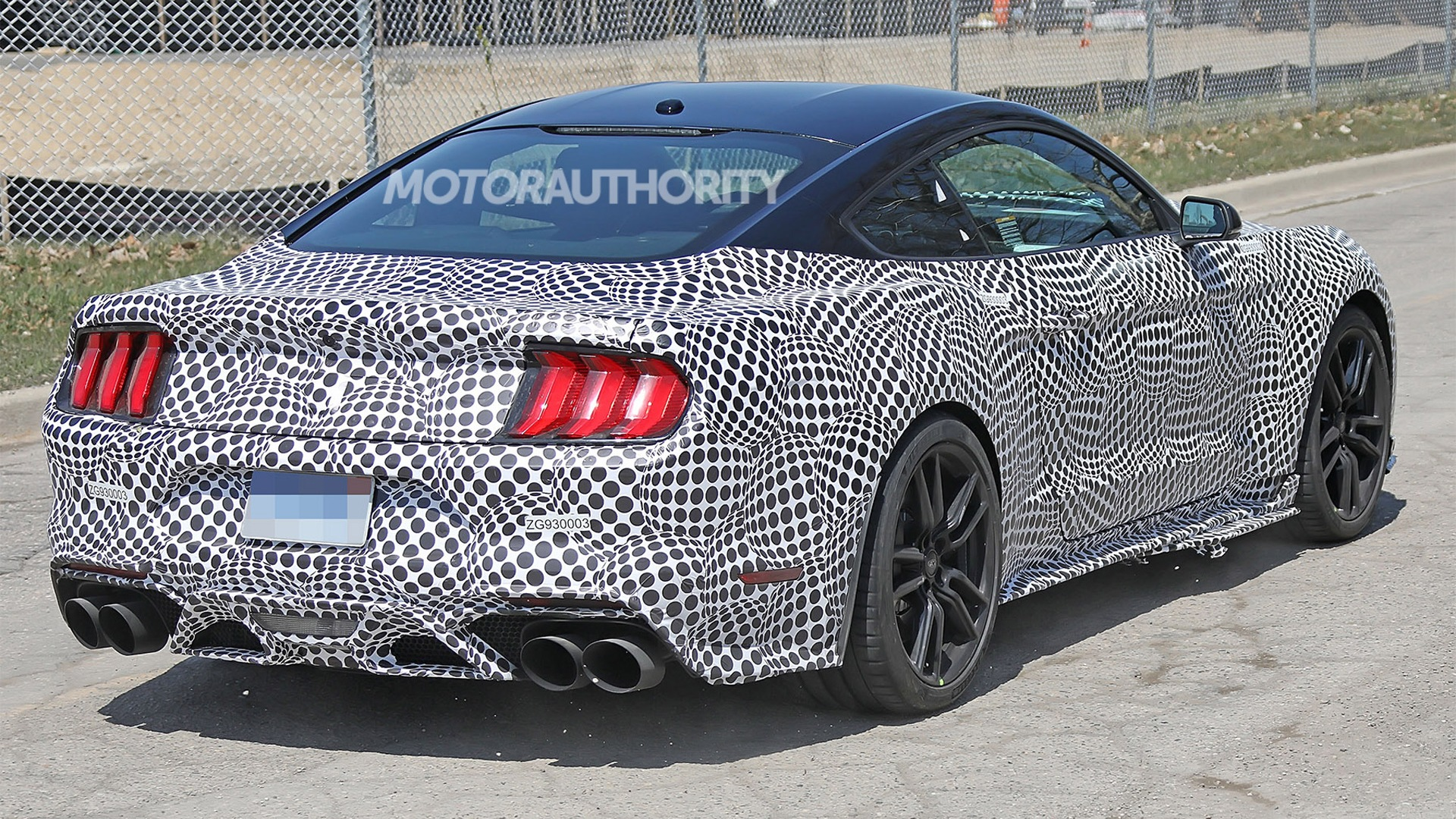 19 All New 2020 The Spy Shots Ford Mustang Svt Gt 500 Pictures