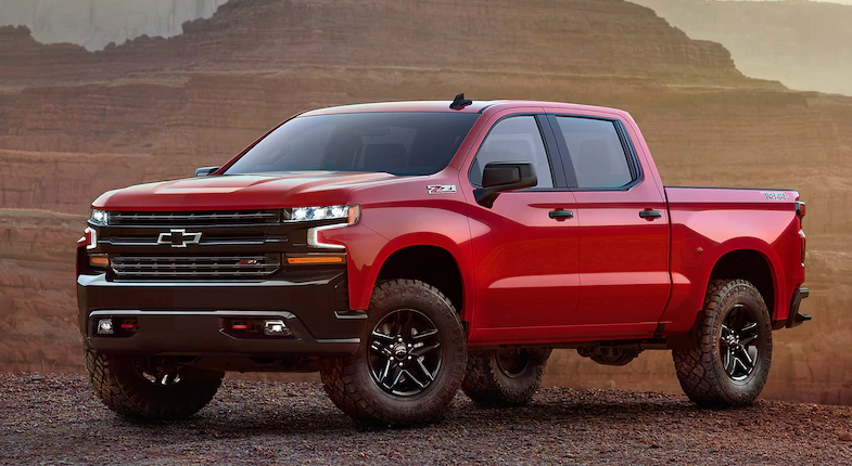 20 A 2020 Chevy Silverado 1500 Spy Shoot