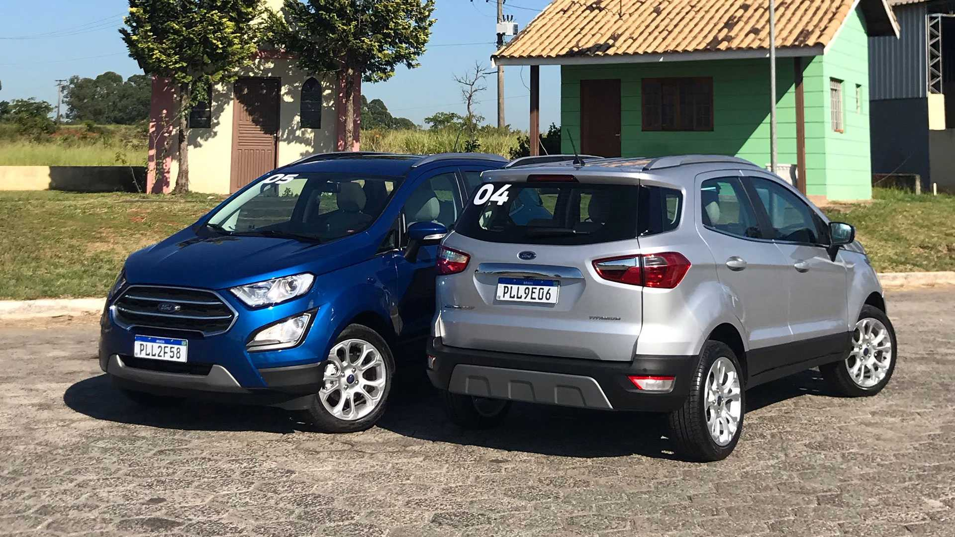 20 The 2020 Ford Ecosport Model