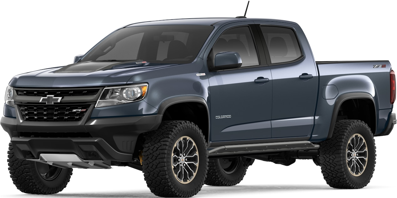21 A 2019 Chevrolet Colorado Z72 Spesification