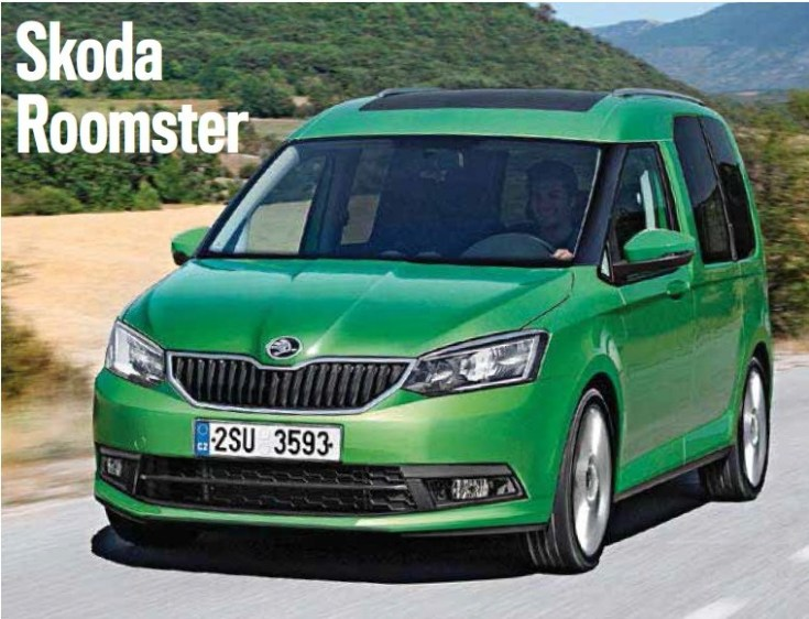 21 A 2019 Skoda Roomster Concept
