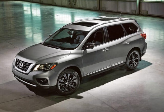 21 A 2020 Nissan Pathfinder Model