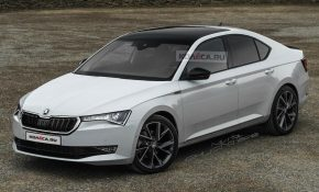 21 A Spy Shots Skoda Superb Spy Shoot